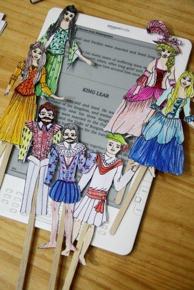 Hands-on Shakespeare, activities for teaching Shakespeare.