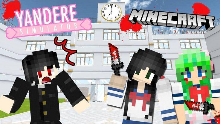 เมอแฝดสองยนเดเระบกโรงเรยน | Minecraft Yandere [zbing z.] http://www.youtube.com/watch?v=bnrJdthtD80