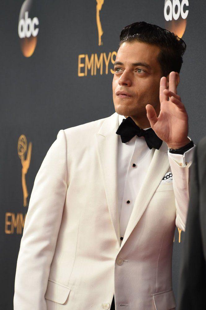 Mr. Robot's Rami Malek @ the Emmys 2016 Red Carpet /  http://m.imdb.com/gallery/rg1825020672/mediaviewer/rm2573011968