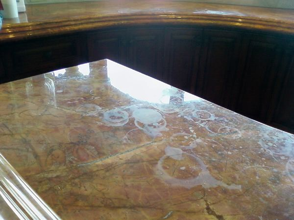17 images about kitchen marble articles on pinterest stains countertops and soapstone - How to remove grease stains from kitchen cabinets ...