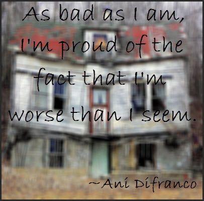 Ani Difranco lyric