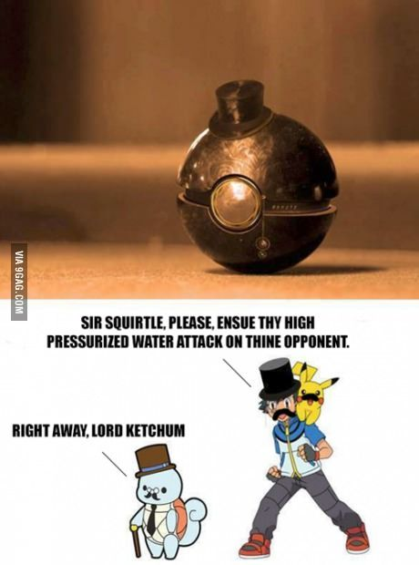 Training Pokemon like a sir  Lord Kechum xD