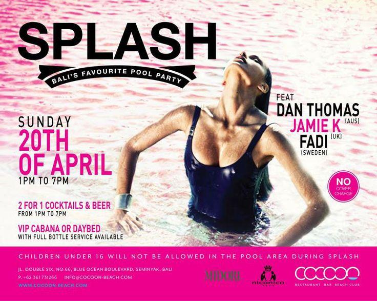 SPLASH: Easter Sunday at Cocoon Beach Club