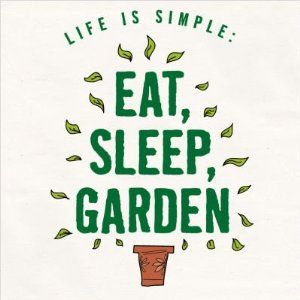 For those who love their gardens .........