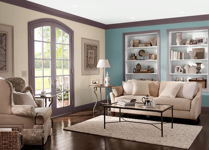 This is the project i created on i used these colors deep aubergine 100f 7 leapfrog for Behr historic interior paint colors