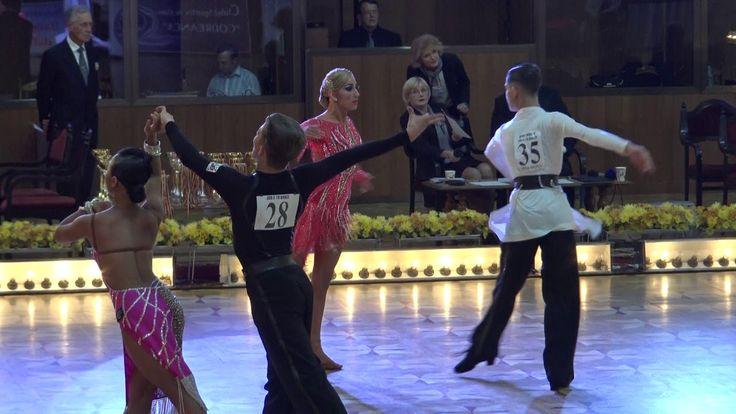 WDSF World Championship Junior II Ten Dance*MARIA SI COSMIN* Semifinal R...