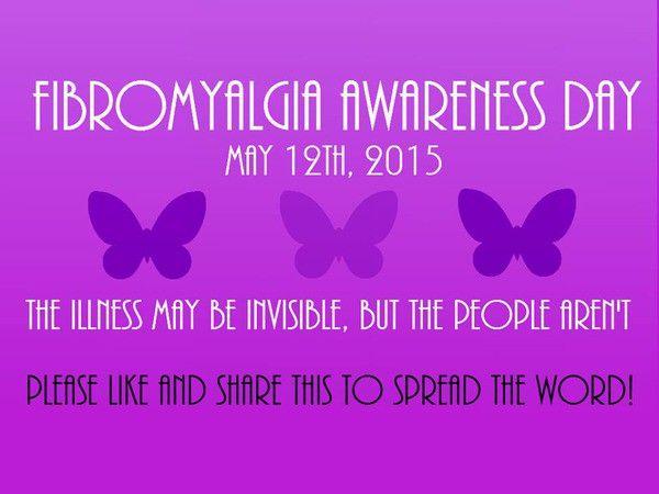 Dia da consciência da fibromialgia