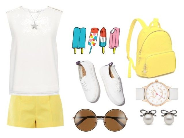"""Summer"" by apostaleksa on Polyvore featuring мода, Boutique Moschino, Eytys, Tattly, Tommy Hilfiger, A.J. Morgan, Kate Spade, Finders Keepers и Estella Bartlett"