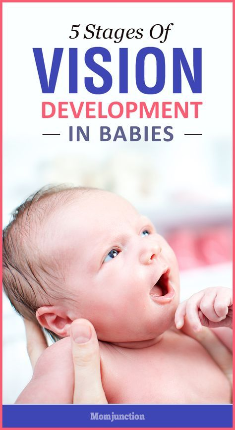 developing vision in newborns [edit] vision problems in infants are both common and easily treatable if addressed early by an ophthalmologist.