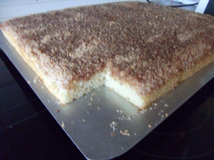 Rezept Buttermilchkuchen mit Nuss ( schnell und einfach) von Helga1956 - Rezept der Kategorie Backen süß