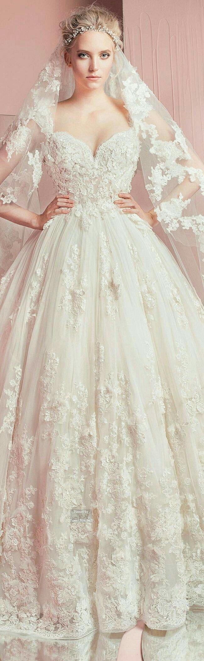 41 best VESTIDOS DE NOVIA images on Pinterest | Kleid hochzeit ...