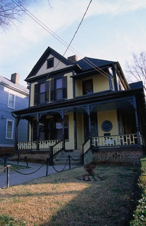 Martin Luther King's house, MLK National Historic Site.