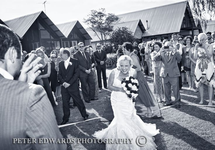 'Got It' moment at this gorgeous wedding. #perfect #timed #unique #bride #blackandwhite #wedding #photography http://www.peteredwardsphotos.com.au