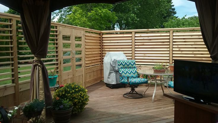 177 Best Images About Creative Backyard Fence Ideas On