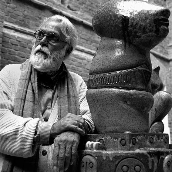 """Entrevista com #FranciscoBrennand, """"Sou um escultor com coração de pintor"""". #artepernambucana #recife #pernambuco #brasil #nordeste #ne"""