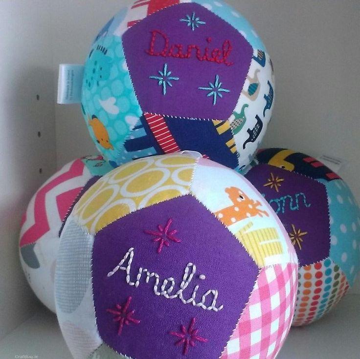 faire des ballons patchwork pour les plus petits