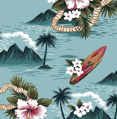 Superdry Hawaiian Prints - Baddesigner®