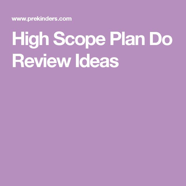 Classroom Review Ideas : Best plan do review images on pinterest high scope
