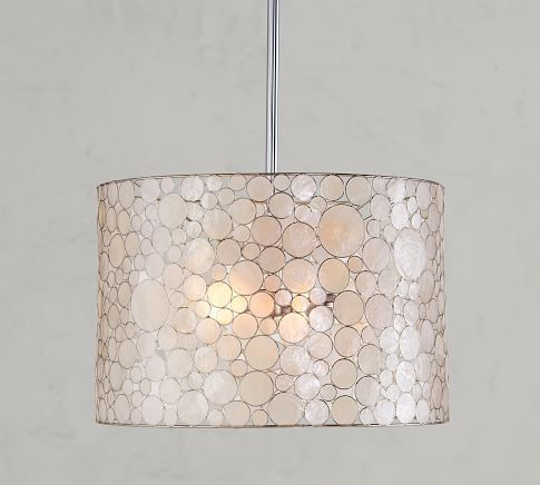 Outstanding Marina Faceted Shell Flushmount At Pottery Barn Dining Home Interior And Landscaping Dextoversignezvosmurscom