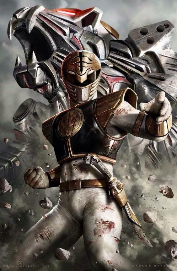 Mighty Morphin Power Rangers - White Ranger                                                                                                                                                                                 More