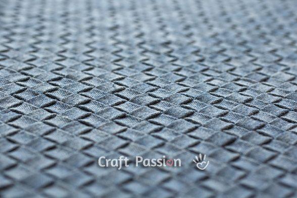 how to make intrecciato weave