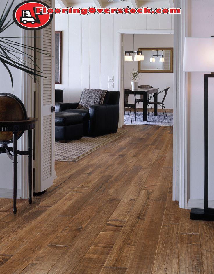 Beautiful Medium Brown Hardwood Floor