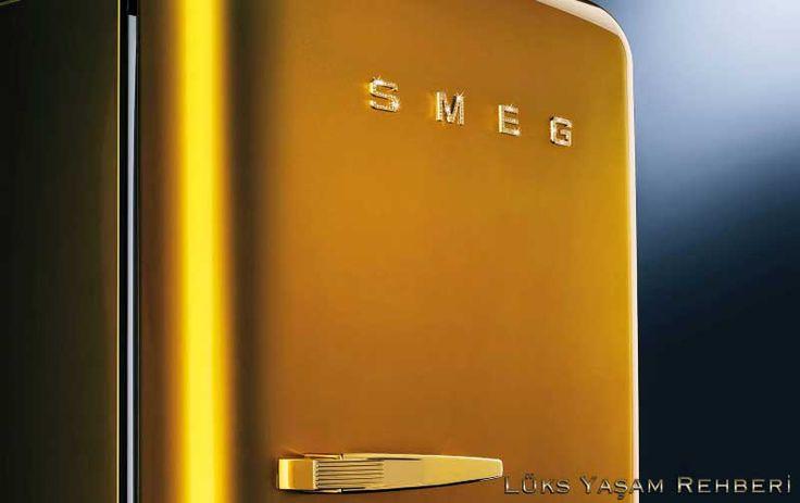 Swarovski Taşlı SMEG Buzdolabı   Lüks Yaşam Rehberi