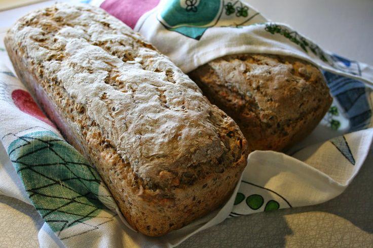 Mamma A's recept: Grovt bröd