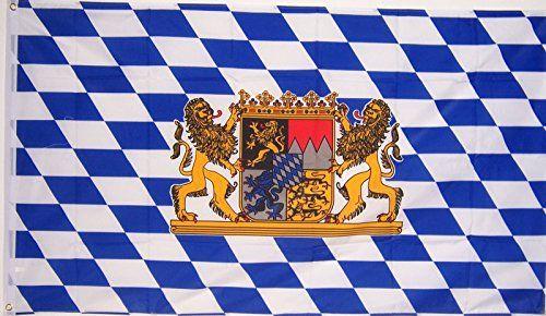 3X5 Bavaria Lion Bavarian German Flag
