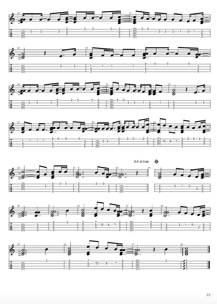 Hey there delilah part 2 in 2020 ukulele tabs ukulele