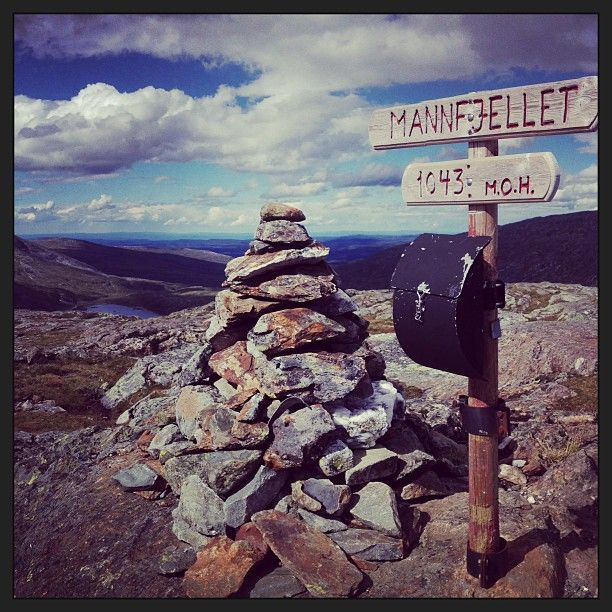 Instagram photo by @anitaklems via ink361.com #mannfjellet #meråker #norway