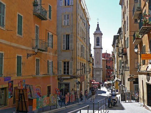 old town nice france love this place i 39 ve been there pinterest tyxgb76aj this. Black Bedroom Furniture Sets. Home Design Ideas