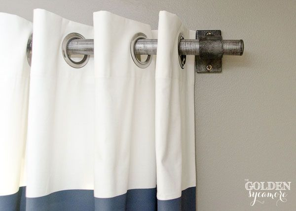 Find This Pin And More On Pipe Curtain Rods By Simplifiedbldg.