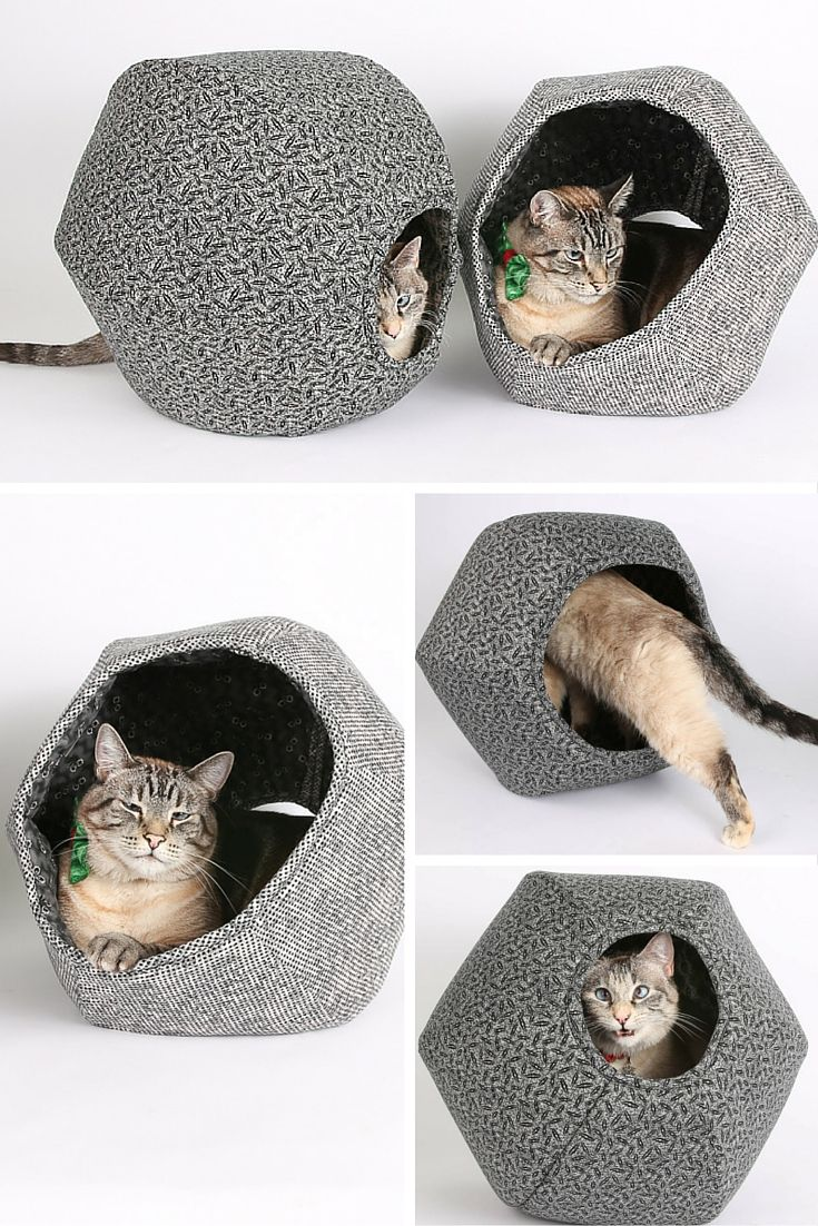 The Cat Ball is made here in small print calico fabrics. These  Riley Blake fabric designs were influenced by Victorian era design. Are you looking for a Gothic cat bed? I think this Cat Ball design qualifies!