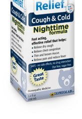 Cough and Cold Nighttime Medicine. It really works for my grandbabies!!!