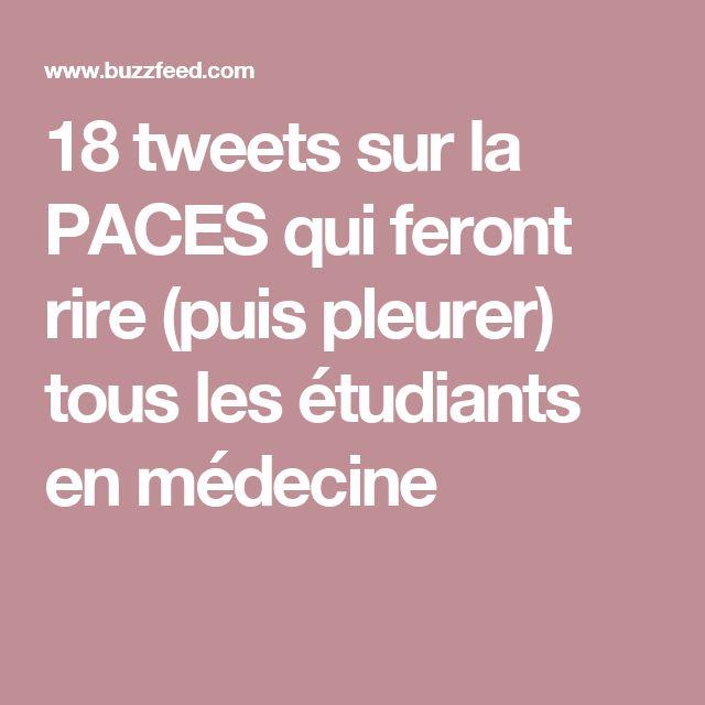 18 tweets sur la PACES qui feront rire (puis pleurer) tous les étudiants en médecine