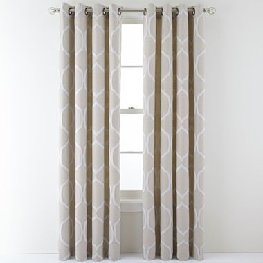 MarthaWindow™ Turning Point Grommet Top Curtain Panel   Jcpenney. Drapes CurtainsLiving  Room ...