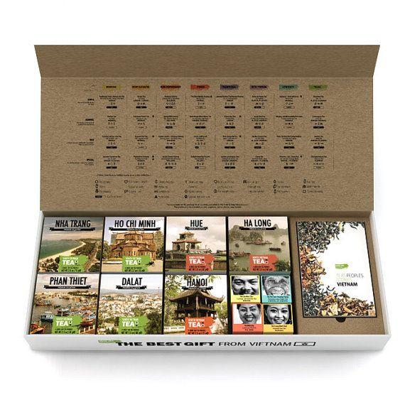 Vietnamese Tea by Sense Asia Tea Collection / Organic Loose Leaf Tea. Perfect…