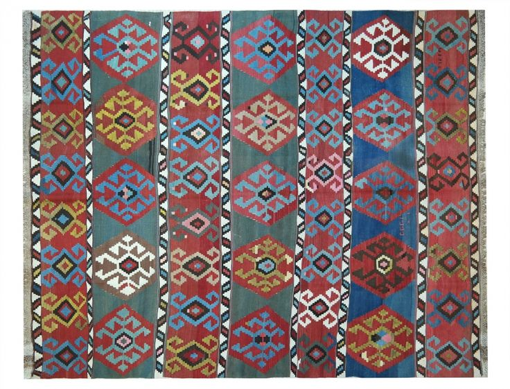 KILIM QASHQAI ANTICO  #tappeti #persiani #orientali #kilim #vintage #orientalrugs #persianrugs #milano