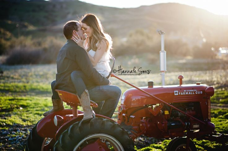 #engagement Country tractor.  www.HannahSons.com