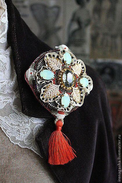 Irena Gasha - Броши ручной работы. Ярмарка Мастеров - ручная работа Брошь B12052. Handmade.
