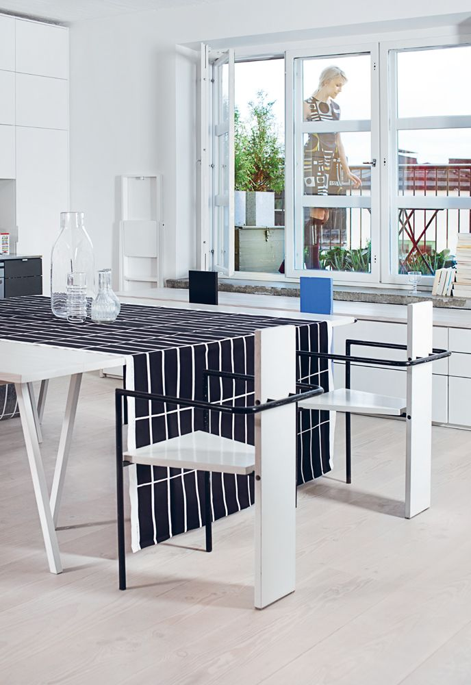 We now offer custom tablecloth, napkin & curtain hemming! http://kiitosmarimekko.com/products/custom-sewing-services