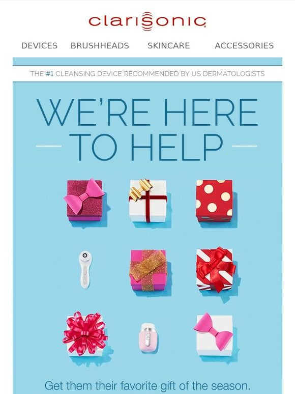 Find The Perfect Gift With Our Gift Finder - Clarisonic