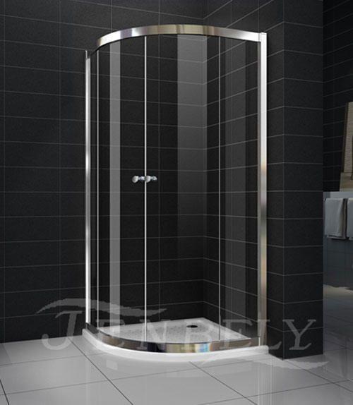 Box cabina doccia angolare - curvo rotondo cristallo 6 mm