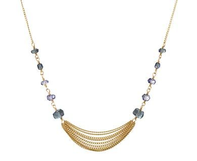 Dana Kellin - Slate Mix Chain Necklace in New Necklaces at TWISTonline