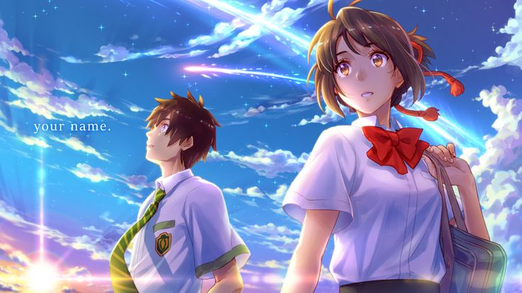 Descargar Your Name (Kimi No Na Wa) HD BLU-RAY Subtitulado ⋆