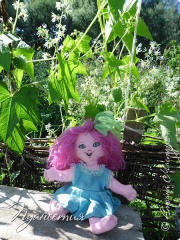 Игрушка Куклы Шитьё  Кукла - позитивчик Ткань фото 5