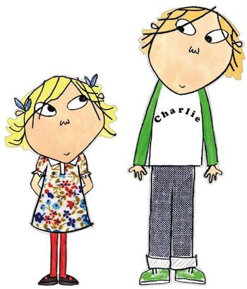 Charlie & Lola, Lauren Child. Such adorable characters!