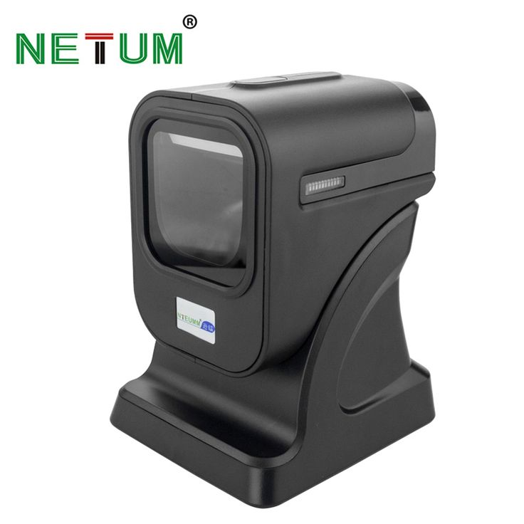 Amazing POS High Quality D Omnidirectional Barcode Scanner Desktop Flatbed Bar Code Reader For Retail Store