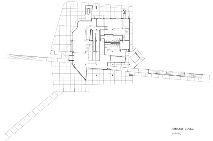Atheneum_ground level plan